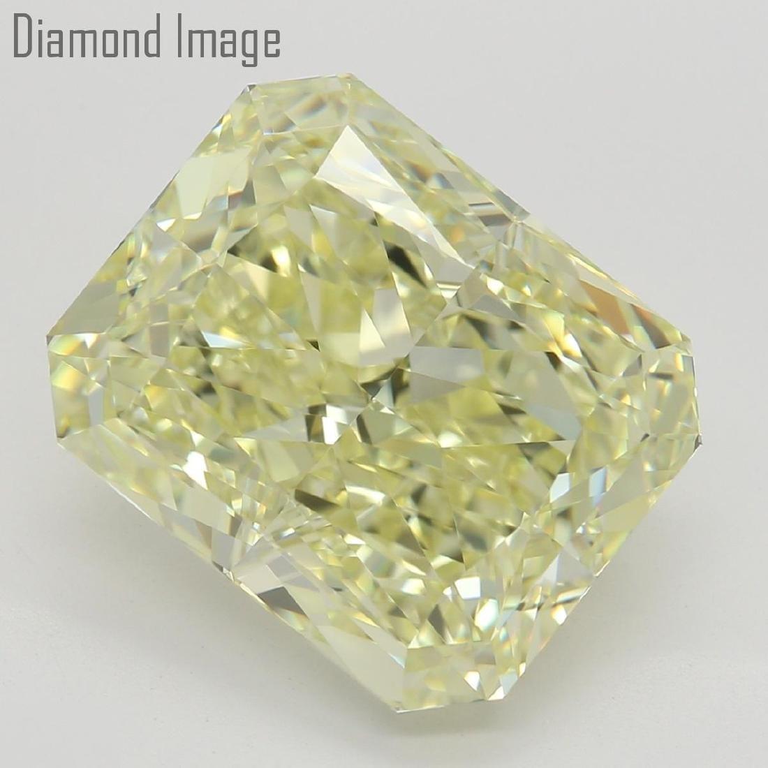 6.01 ct, Natural Color/VS1, Radiant cut Diamond