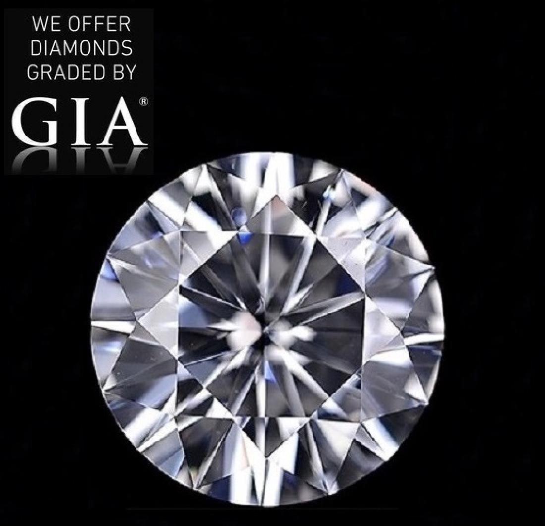 2.00 ct, Color H/VVS2, Round cut Diamond