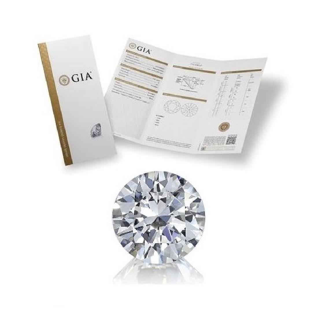 2.21 ct, Color H/VVS2, Round cut Diamond