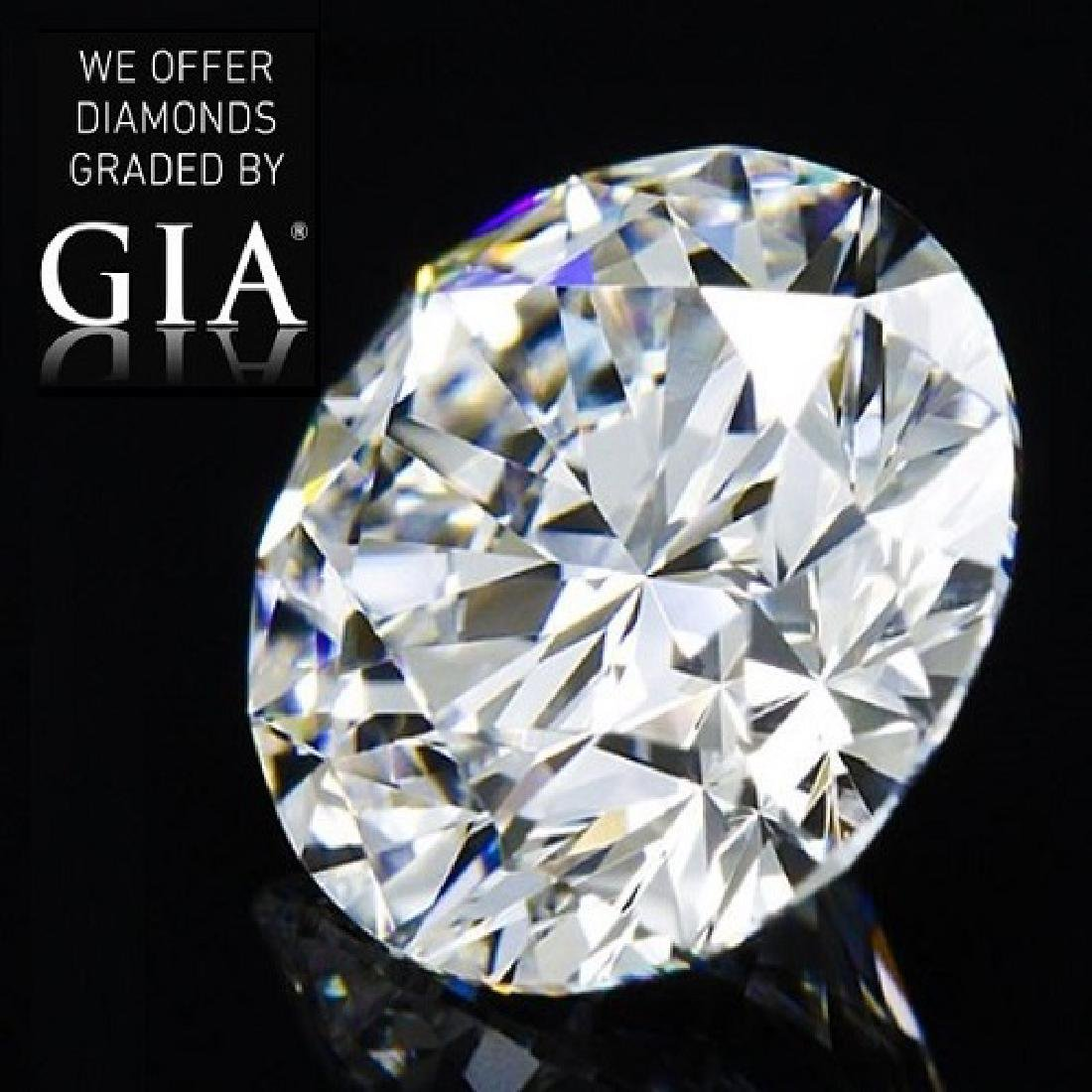5.64 ct, Color D/FL, Round cut Diamond