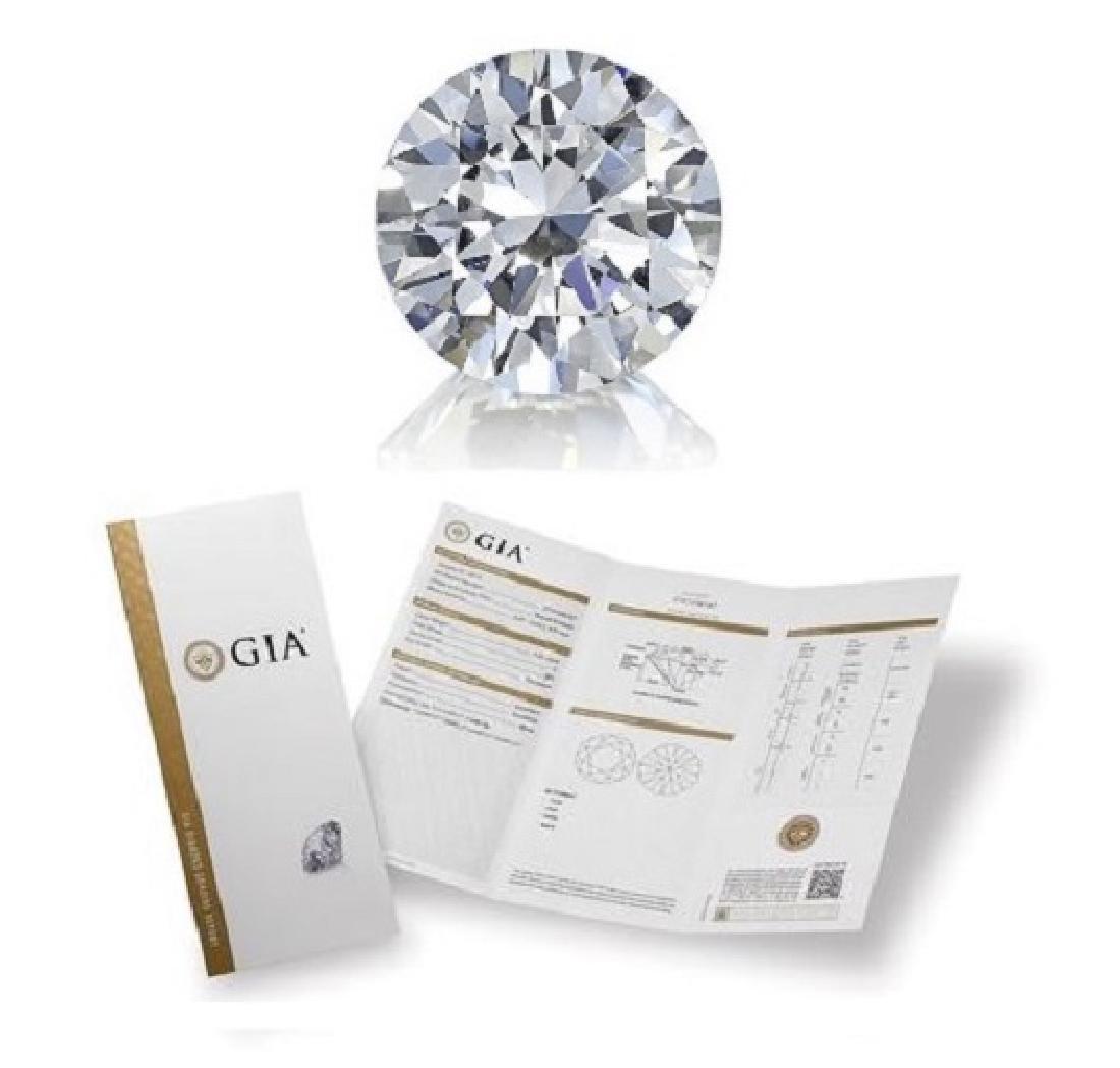 2.01 ct, Color H/VVS1, Round cut Diamond