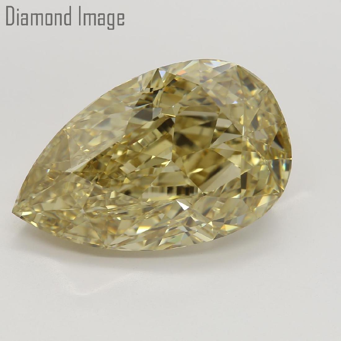 10.03 ct, Natural Color/VS2, Pear cut Diamond