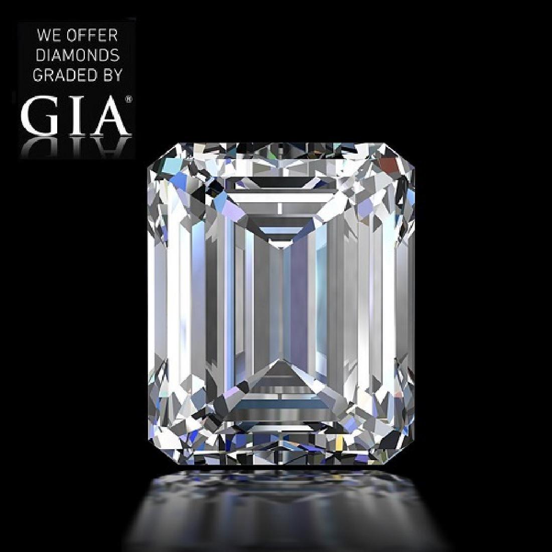 5.02 ct, Color E/VS2, Emerald cut Diamond