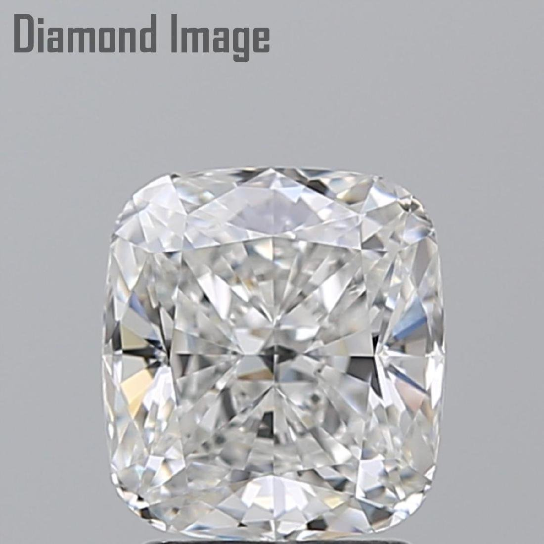 2.02 ct, Color E/IF, Cushion cut Diamond - 2