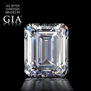 222 ct Color EVS1 Emerald cut Diamond