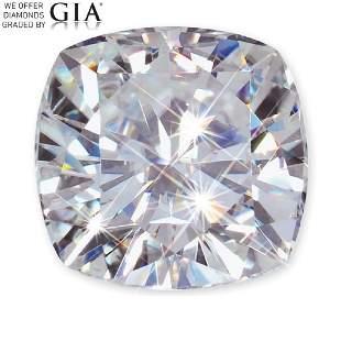201 ct Color FVVS2 Cushion cut Diamond