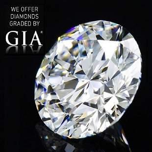 204 ct Color GVS2 Round cut Diamond