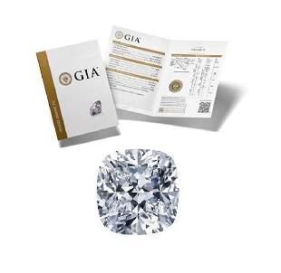 202 ct Color GVS1 Cushion cut Diamond