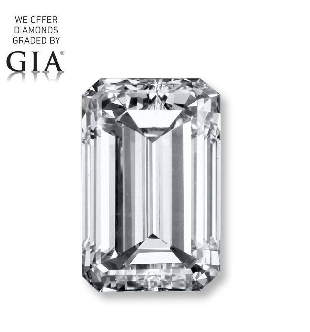 1.01 ct, Color G/VS2, Emerald cut Diamond