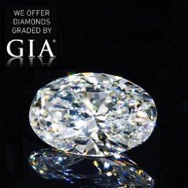 4.01 ct, Color D/VS1, Oval cut Diamond