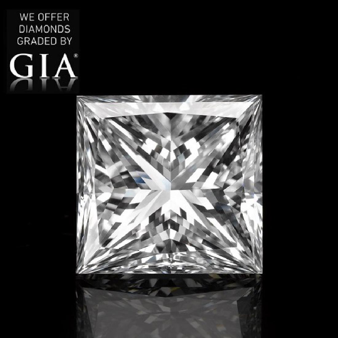 2.02 ct, Color G/VS1, Princess cut Diamond