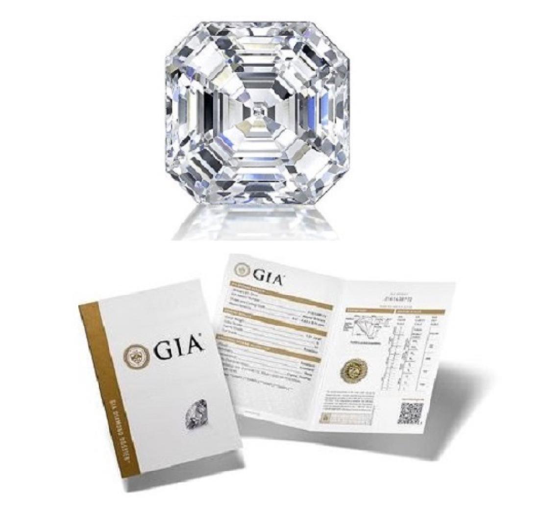 1.02 ct, Color I/VVS2, Sq. Emerald cut Diamond