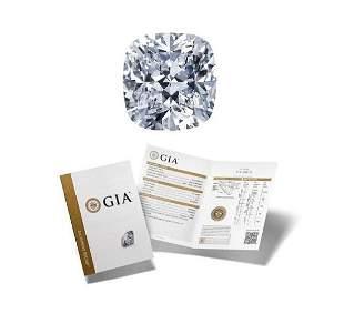 101 ct Color GVS2 Cushion cut Diamond