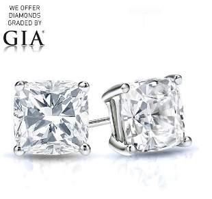 260 ct Cushion cut Diamond Pair