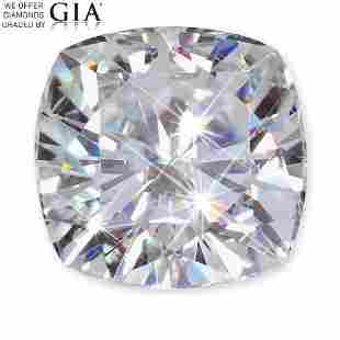 121 ct Color EVVS2 Cushion cut Diamond
