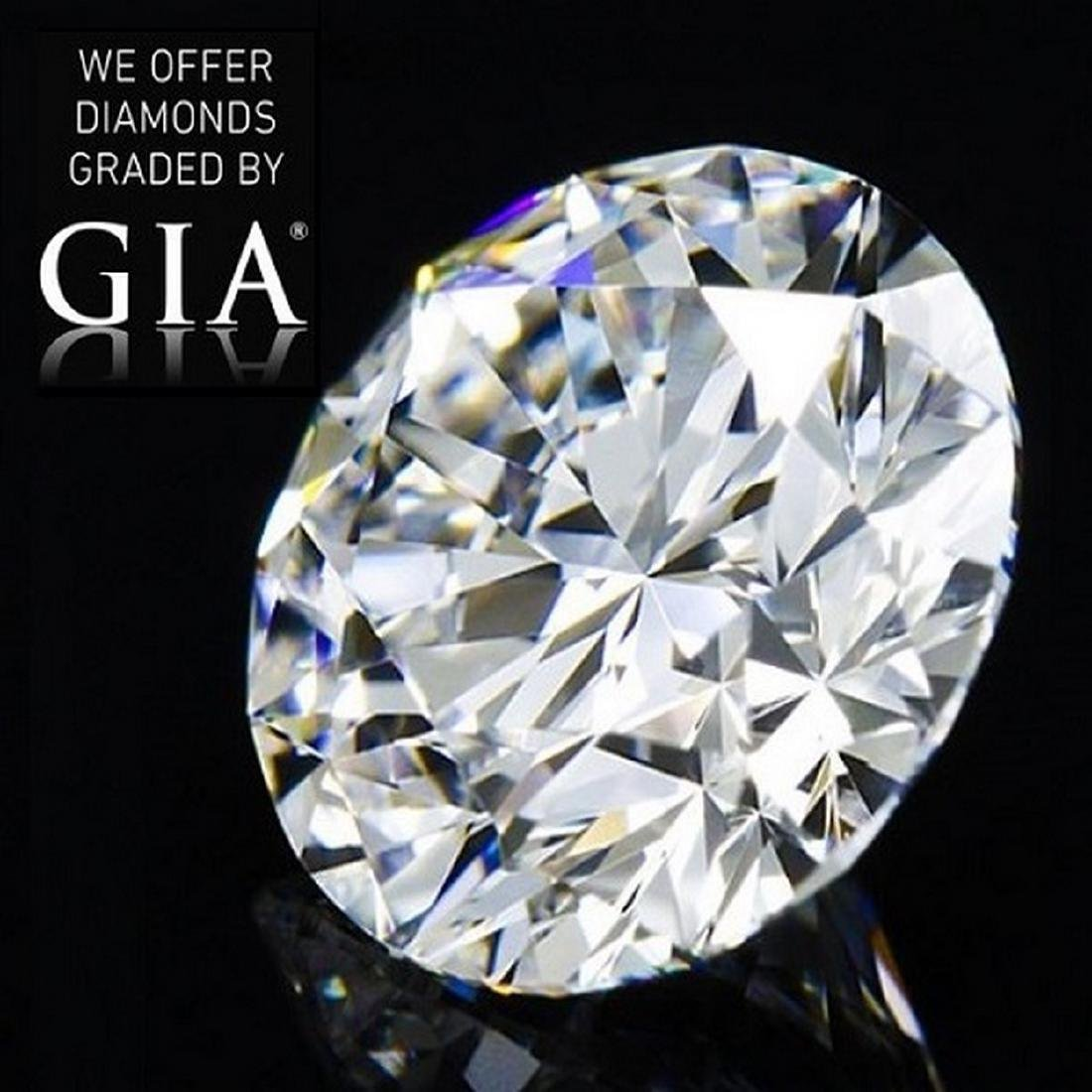 11.02 ct, Color E/FL, Round cut Diamond
