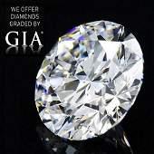 2.42 ct, Color G/VVS1, Round cut Diamond
