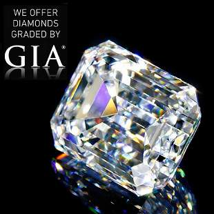102 ct Color DVVS1 Emerald cut Diamond