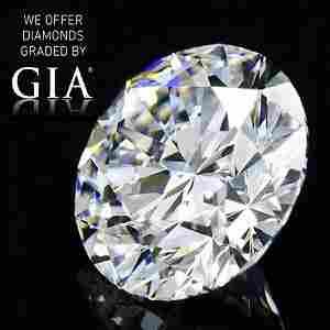 5.01 ct, Color G/VVS2, Round cut Diamond
