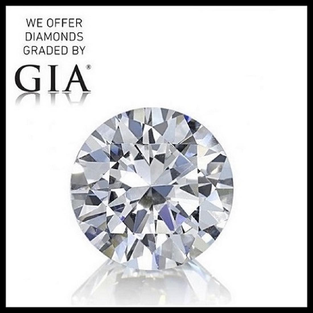 2.29 ct, Color E/IF, Round cut Diamond