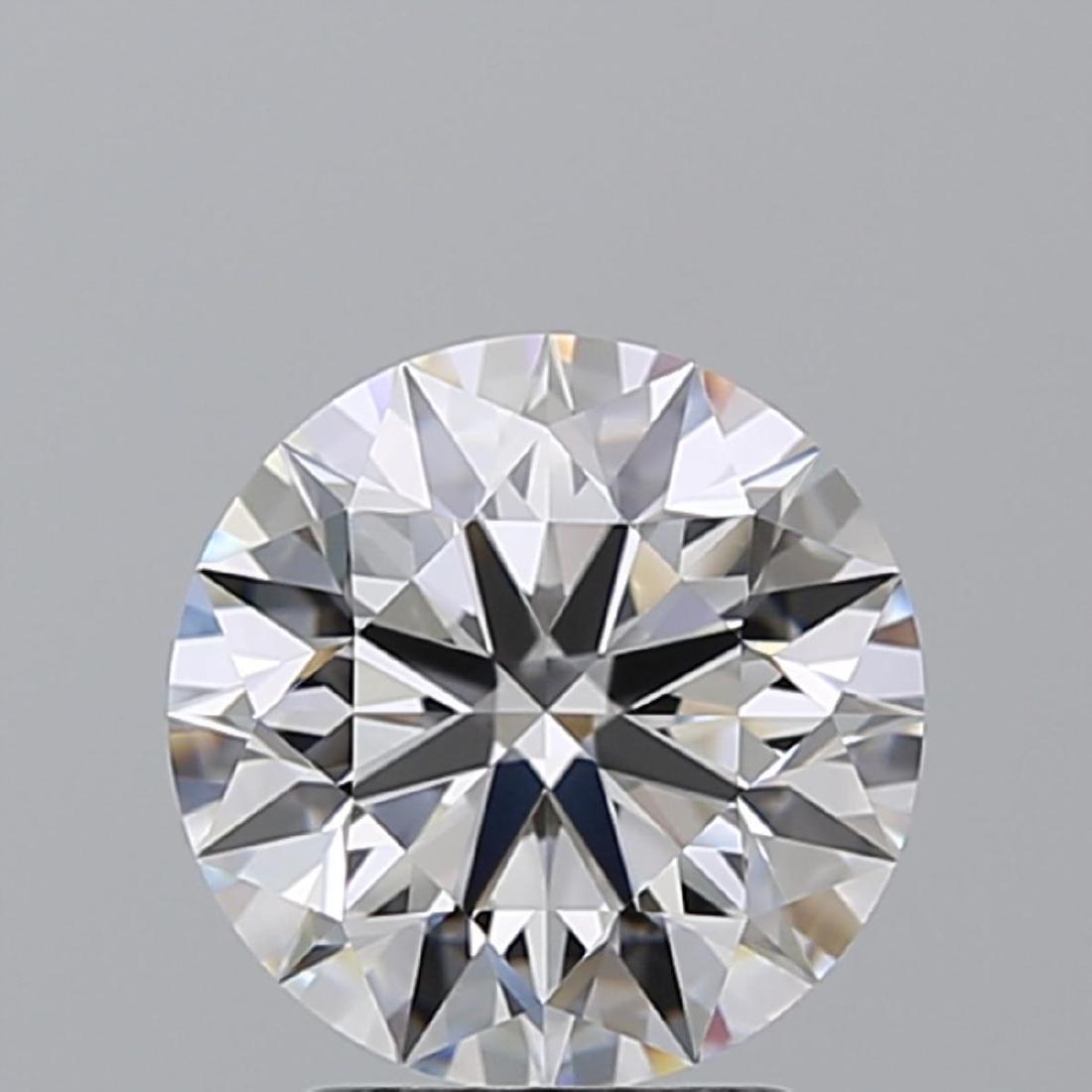 2.29 ct, Color E/IF, Round cut Diamond - 2