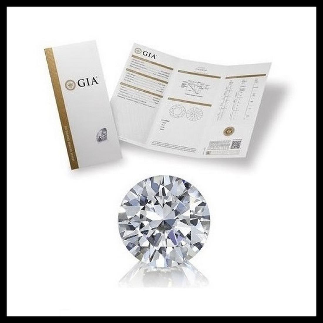 4.01 ct, Color I/VS1, Round cut Diamond