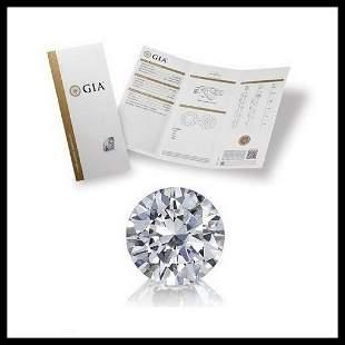 201 ct Color EVS2 Round cut Diamond