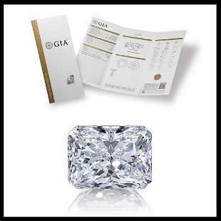 103 ct Color DVS2 Radiant cut Diamond