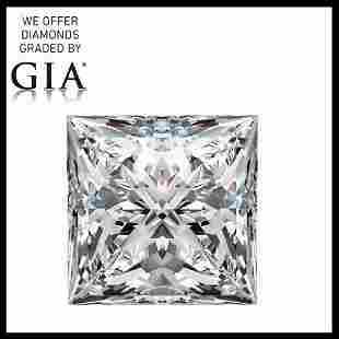 301 ct Color HVVS2 Princess cut Diamond