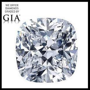 401 ct Color HVVS2 Cushion cut Diamond