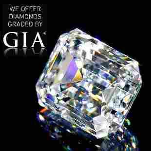 109 ct Color FIF Emerald cut Diamond