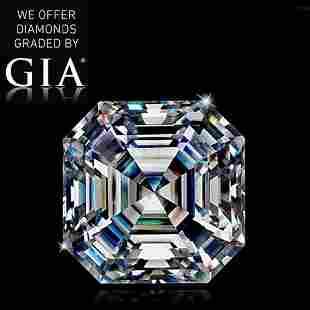 106 ct Color GVS1 Sq Emerald cut Diamond