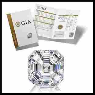 501 ct Color HVS1 Sq Emerald cut Diamond