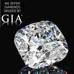 405 ct Color GVS1 Cushion cut Diamond