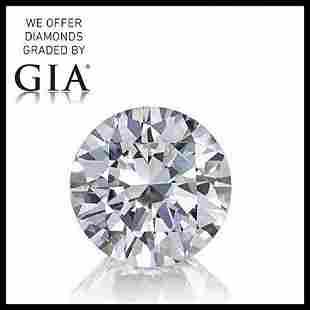 712 ct Color IVVS2 Round cut Diamond