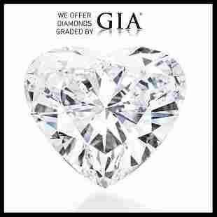 301 ct Color HVVS2 Heart cut Diamond