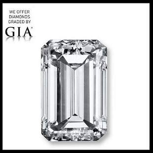 201 ct Color EIF Emerald cut Diamond