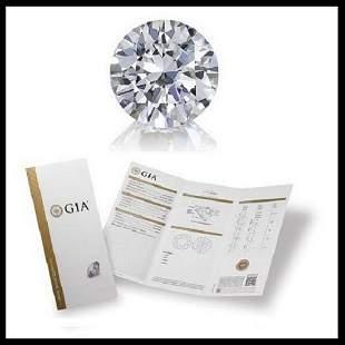 301 ct Color IVS1 Round cut Diamond