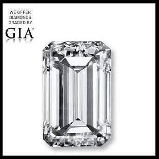 501 ct Color GVS1 Emerald cut Diamond