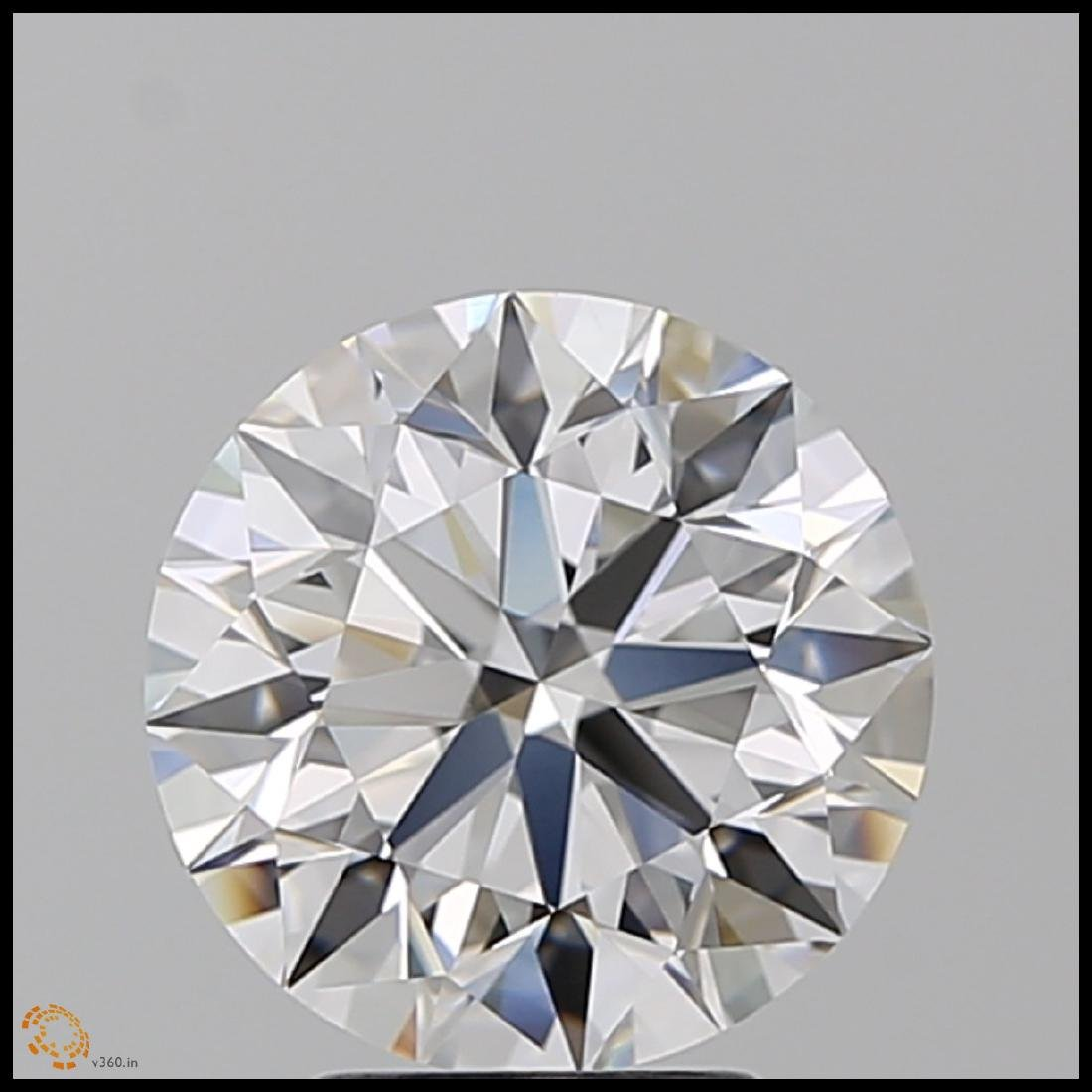 6.01 ct Round cut Diamond Pair - 2