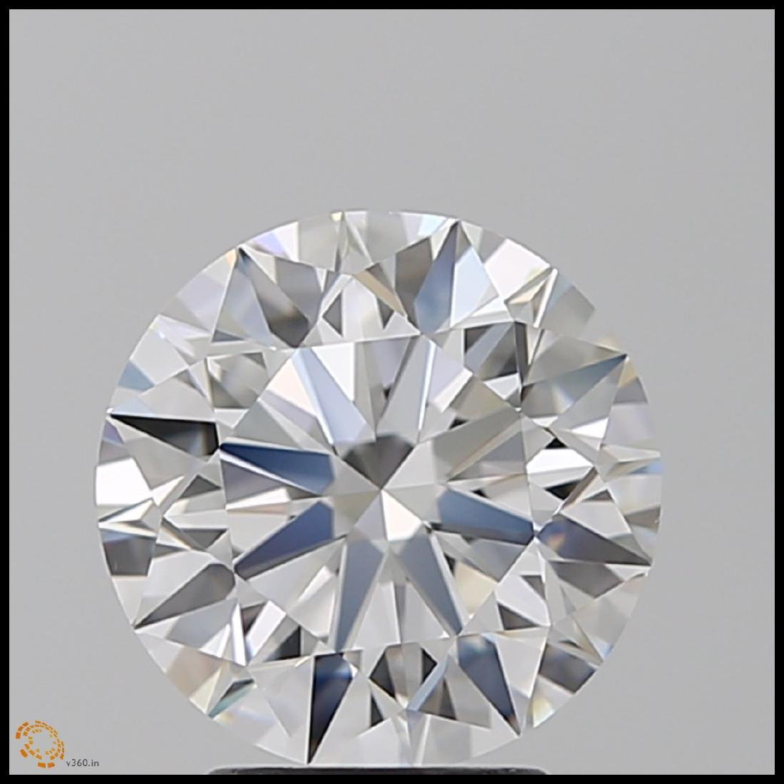 6.01 ct Round cut Diamond Pair - 3