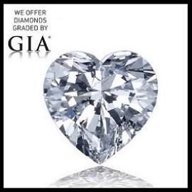 6.13 ct, Color D/VS2, Heart cut Diamond
