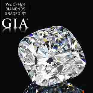 120 ct Color HIF Cushion cut Diamond