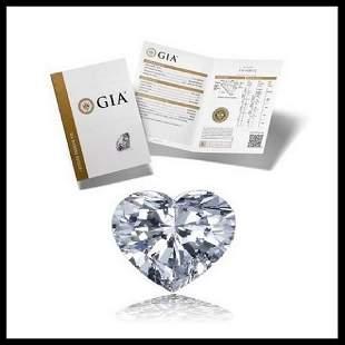 151 ct Color DVS1 Heart cut Diamond