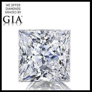 401 ct Color IVVS1 Princess cut Diamond