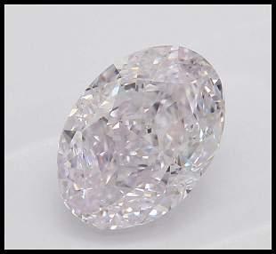 110 ct Very Lt PinkVS1 Oval cut Diamond