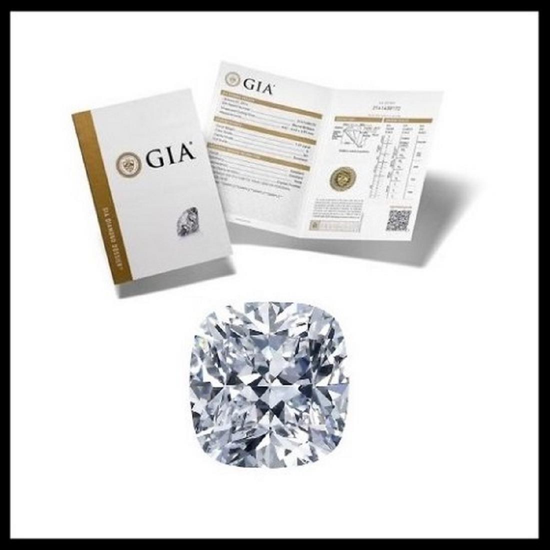 1.24 ct, Color H/VVS1, Cushion cut Diamond