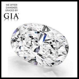 10.13 ct, Color H/VS2, Oval cut Diamond
