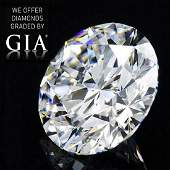13.22 ct, Color D/FL, Round cut Diamond