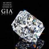 201 ct Color GVVS2 Radiant cut Diamond